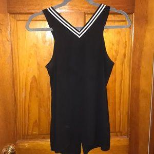 Express Open back sleeveless shirt